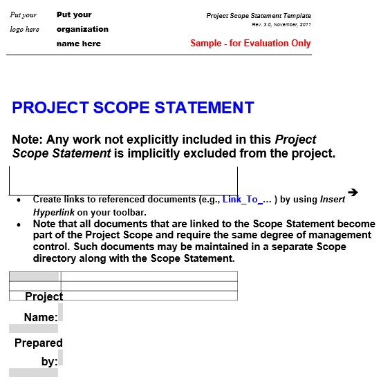 free project scope template 1