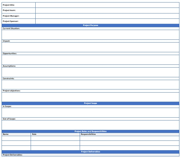 free project scope template 3