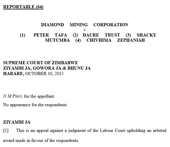 two week court notice letter